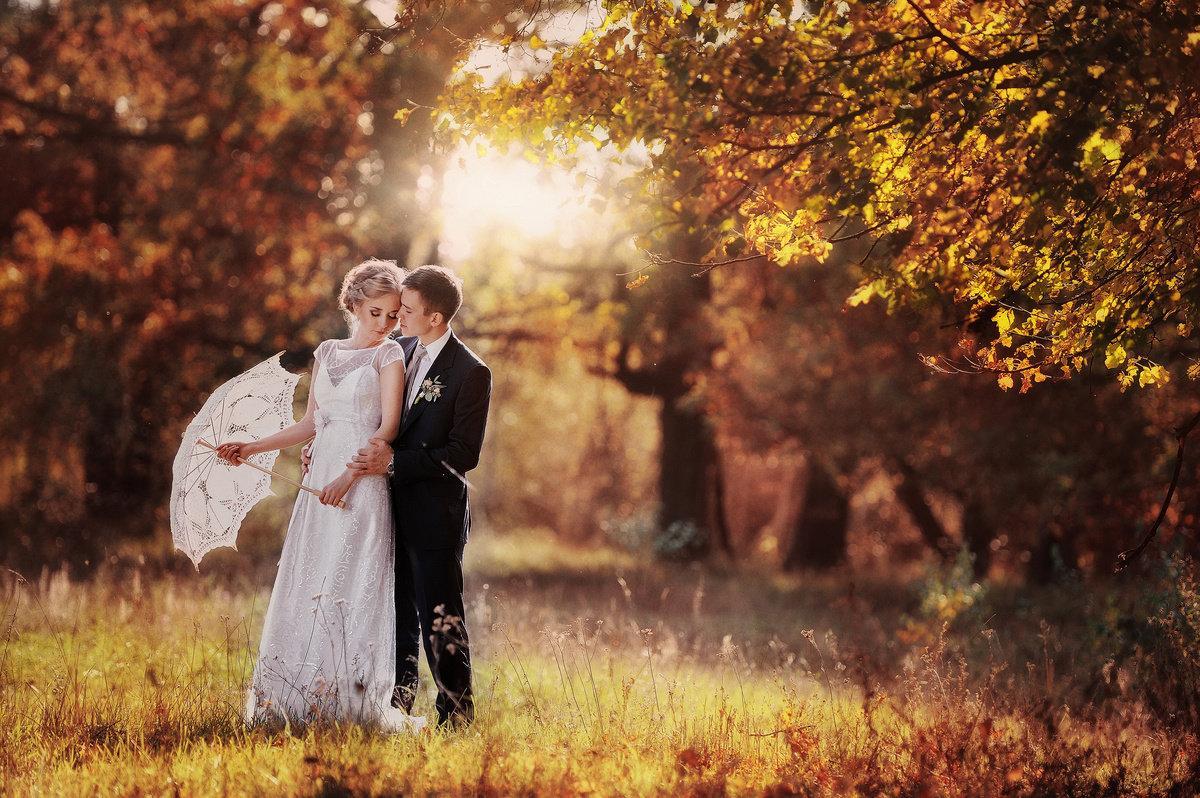 Осень – традиционная пора свадеб